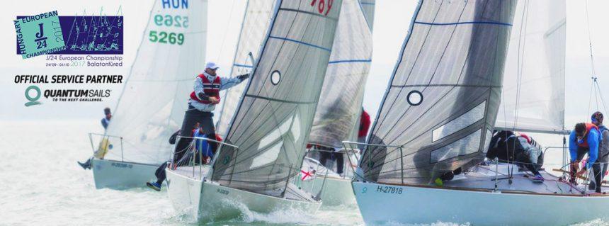 Quantum Sails Hungary, a 2017-es J/24 Európa-bajnokság hivatalos szervíz partnere // QUANTUM SAILS HUNGARY, THE OFFICIAL SERVICE PARTNER OF THE J/24 EUROPEANS