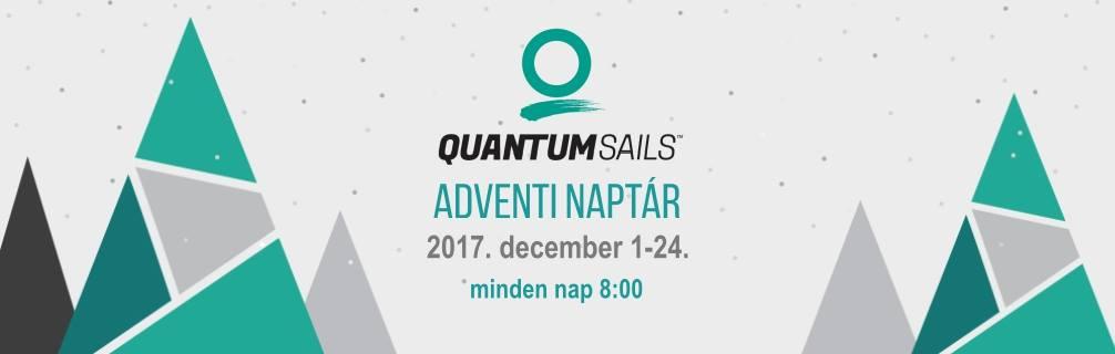 December 1-én indul a Quantum Sails Hungary adventi naptára!